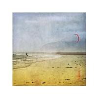Framed Kite Surfer