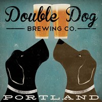 Framed Double Dog Brewing Co.