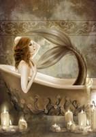 Framed Bath Time
