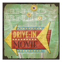 Framed Drive In
