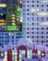 Framed Metropolitain III