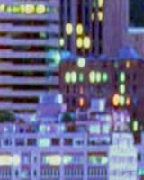 Framed Metropolitain IV