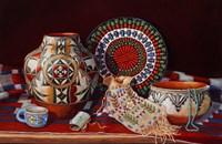 Framed Tribal Art