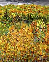 Framed Towards Autumn