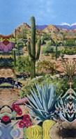 Framed Desert Oasis 2