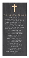 Framed Lord's Prayer - Chalk