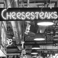 Framed Cheesesteaks  (b/w)