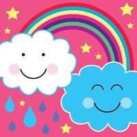 Framed Rain Cloud 2