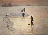 Framed Skaters, 1891