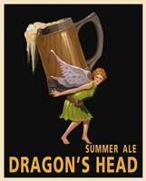 Framed Dragon's Head Ale