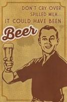 Framed Spilled Milk And Beer