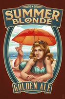 Framed Summer Blonde Golden Ale