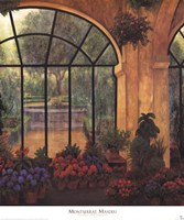 Framed Arches & Flowers