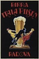 Framed Itala Pilsen Bier