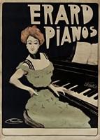Framed Erard Pianos