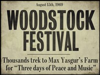 Framed Woodstock