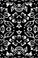 Framed Black & White Pattern