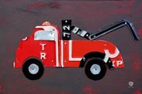 Framed Tow Truck
