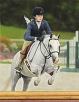 Framed Horse Rider