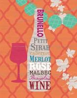 Framed Summer Wine Celebration I