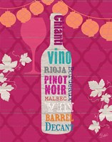 Framed Summer Wine Celebration III