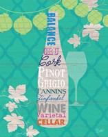 Framed Summer Wine Celebration IV