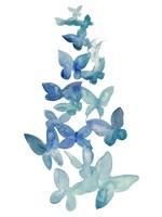 Framed Butterfly Falls I