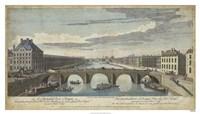 Framed Le Pont Royal, Paris