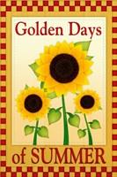 Framed Golden Days of Summer