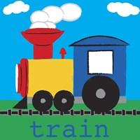 Framed Train