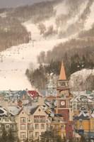 Framed Mont Tremblant Ski Village