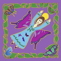 Framed Butterfly Angel