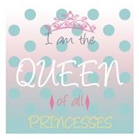 Framed Princess Queen