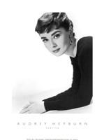 Framed Audrey Hepburn as Sabrina