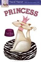 Framed Princess Kitty