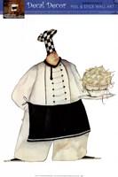 Framed Pasta Bistro Chef