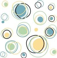 Framed Retro Circle 1