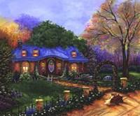 Framed Apple Cottage