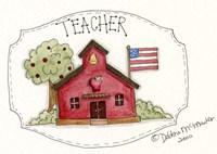 Framed Teacher/School