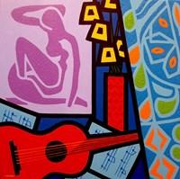 Framed Homage To Matisse 11