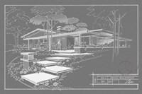 Framed 301 Cypress Dr. Grayline - Inverse