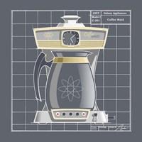 Framed Galaxy Coffeemaid - Pewter