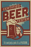 Framed Beer Tester