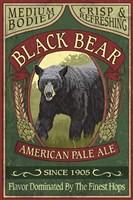Framed Black Bear Pale Ale