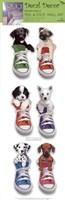 Framed Sneaker Pups