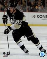 Framed Sidney Crosby 2015-16 Action
