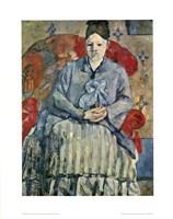 Framed Madame Cezanne