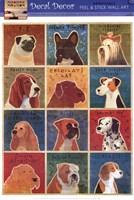 Framed One Dozen Dogs