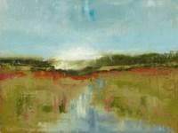 Framed Landscape Aflutter