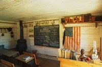 Framed First School in Montana